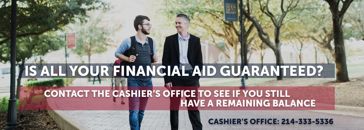Is all you financial aid guaranteed?