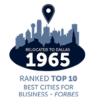DBU relocated to dallas in 1965 - dallas ranked is ranked in the top 10 best cities for business according to forbes