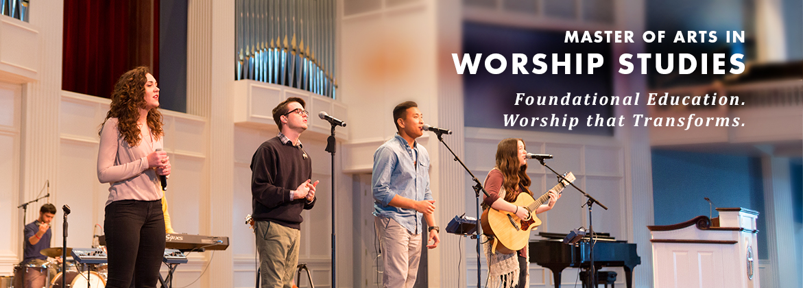 Join a community of worship scholars and servant leaders who are learning to create meaningful worship experiences that engage the heart's affection and the mind's attention.