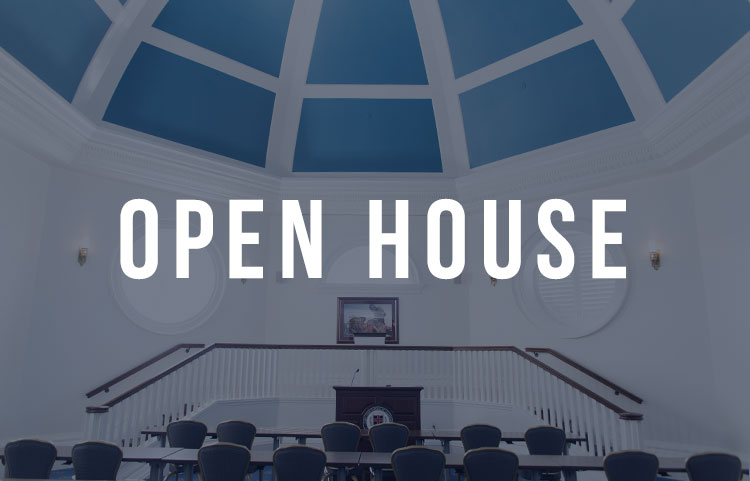 RSVP For a Graduate Open House