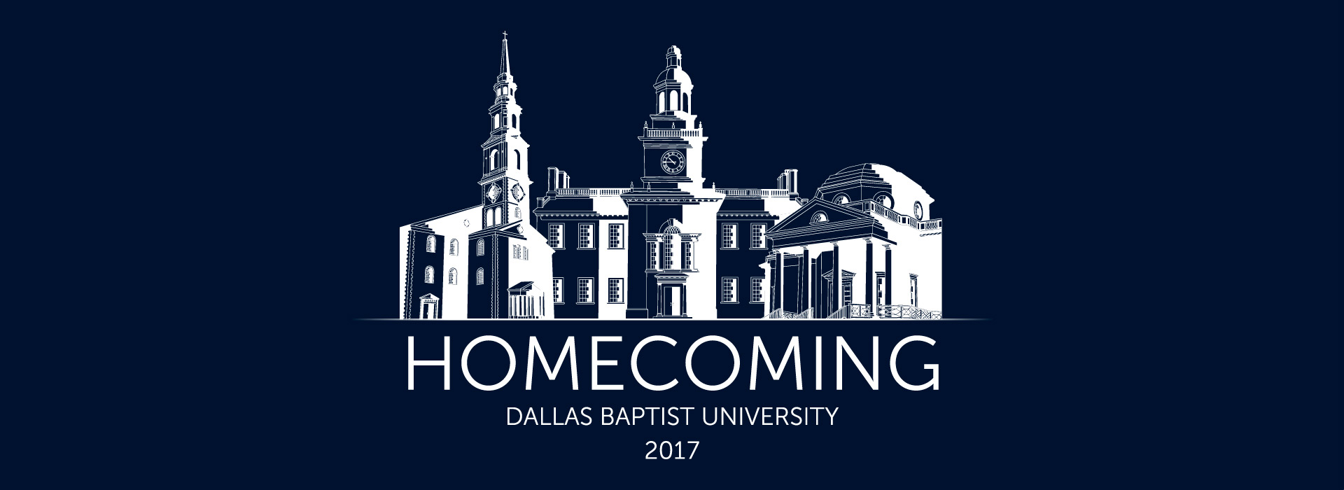 DBU's Homcoming 2017 - A Family Tradition Banner