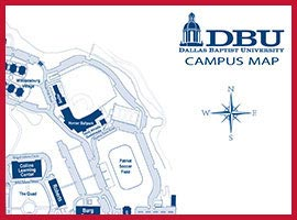 DBU Campus Map