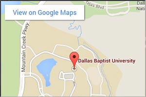 DBU Main Campus Google Map for Desktop and some mobile devices