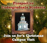 Christmas Campus Tours