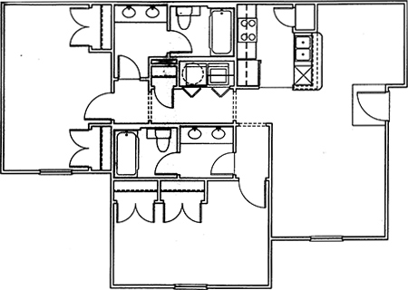 Colonial Village Apartment Living at Dallas Baptist University