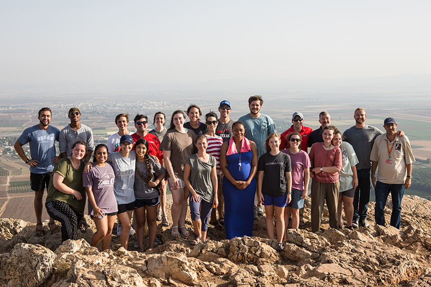 DBU Students in Israel