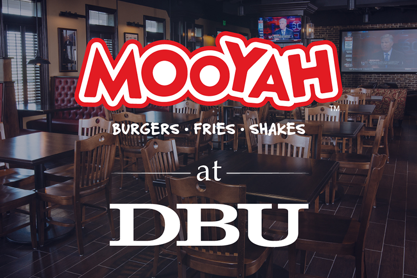 MOOYAH Burgers, Fries & Shakes Opens at Dallas Baptist University