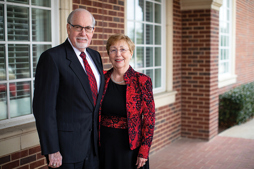 Dr. Herb and Barbara Pedersen