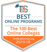 DBU ranks in the 100 Best Online Colleges for 2018-2019