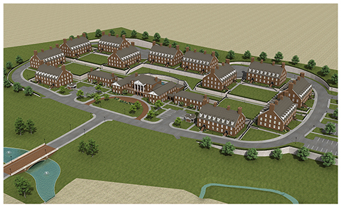Phase One - Ford Village and DBU's First Residential College