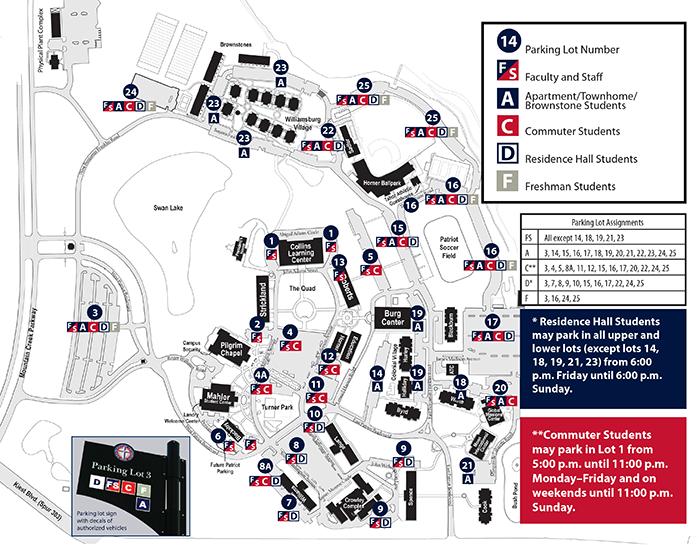 Vehicle Registration Process at Dallas Baptist University