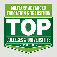 Top Schools for Veterans by Military Advanced Education, 2018